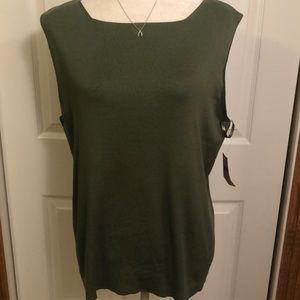 Coldwater Creek Sweater Shell NWT